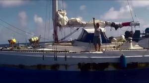2 women, 2 dogs rescued after 5 months lost at sea