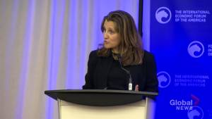 Canada 'closely following' reports of attacks on Russian journalists: Freeland