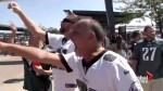 Fans clash with BLM activists outside Philadelphia Eagles game