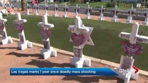 Las Vegas marks 1 year since deadly shooting