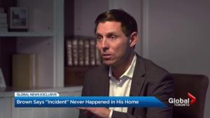 Patrick Brown Exclusive: Brown says incident never happened