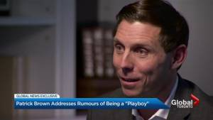 Patrick Brown Exclusive: Brown answers to 'playboy' label