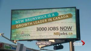 Billboard campaign urges New Brunswickers to come home