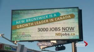 Billboard campaign urges New Brunswickers to come home