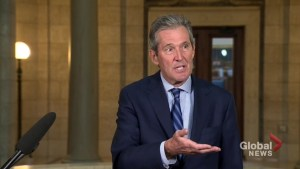 Manitoba premier pushes back over city's budget blame