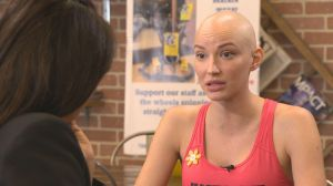 Toronto model fights public battle with cancer