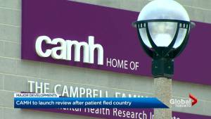 CAMH to hold external review after patient escapes