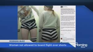 Woman not allowed to board JetBlue flight for wearing 'inappropriate' shorts