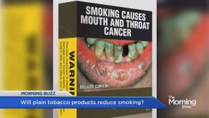 Plain tobacco packaging is coming to Canada