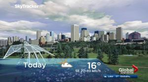 Edmonton early morning weather forecast: Monday, September 18, 2017