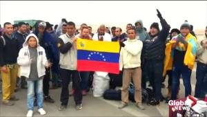 """""""We don't have anywhere to go"""" Venezuelan migrants stranded at Chile-Peru border"""