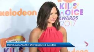 Demi Lovato recovering in hospital following suspected overdose