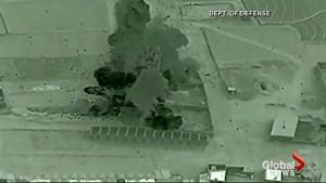 U.S. Afghan forces strike opium factories