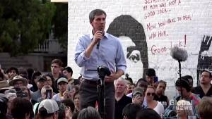 'Why will this not stop happening?': Presidential candidate O'Rourke
