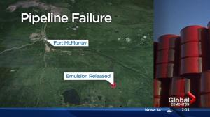 Nexen's Fort McMurray pipeline spill