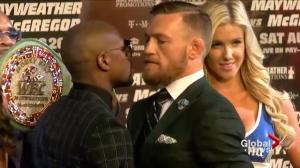 Countdown to Mayweather-McGregor fight