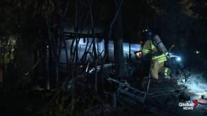 Edmonton motel fire