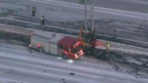 2 dead in single-vehicle crash on Hwy. 401, eastbound lanes closed