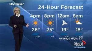 Calgary weather finally feels like summer