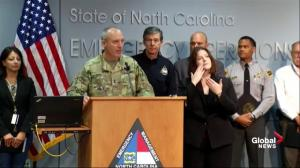 Hurricane Florence: National Guard commander says response to storm is unprecedented