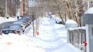 Deep freeze causes slippery sidewalks in Halifax