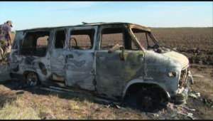 Mexican officials locate burned-out van allegedly used by missing Australian tourists