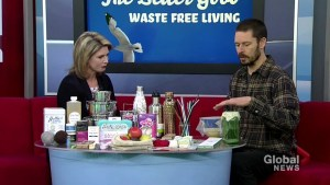 Reducing waste by using eco-friendly products