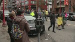 Protesters rally for affordable housing