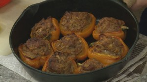 Mini stuffed peppers recipe