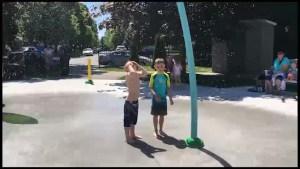 Barnardo Park splash pad opens in Peterborough