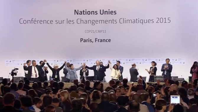 'Ambitious But Realistic' Paris Agreement Adopted By