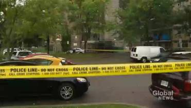 Two Men Were Shot And A Woman Was Stabbed In Rexdale Neighbourhood Investigators Told Global News They Recovered Gun Nearby Bush Three Hours Later