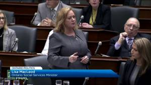 MacLeod answers more questions about autism funding at Queen's Park