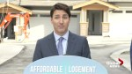 Trudeau outlines the federal budget housing benefits