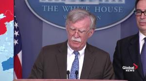 Safety of US diplomatic personnel in Venezuela 'top priority': Bolton