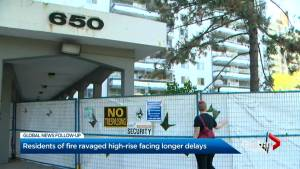 650 Parliament residents unable to return home until late fall