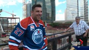 Milan Lucic signed with Edmonton Oilers because of Connor McDavid