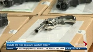 Should the federal government ban guns in urban areas?