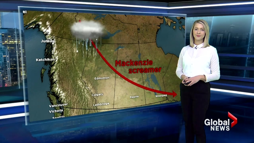 Toronto is under a freezing rain warning today