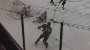 Burnaby player pulls off jaw-dropping trick goal