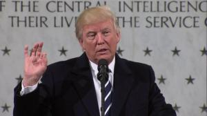 Trump gets applause at CIA headquarters for calling media 'among the most dishonest human beings'