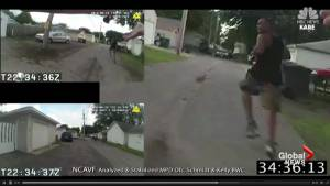 Body camera footage shows officer-involved shooting in Minneapolis