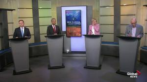 Alberta political leaders debate the meaning of leadership