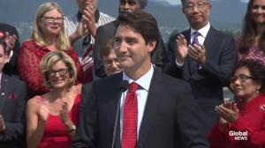 Trudeau comments on Trans-Pacific Partnership trade deal