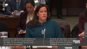 Wilson-Raybould describes 'consistent, sustained effort' to interfere in SNC-Lavalin case