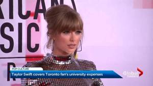 Taylor Swift pays University of Waterloo student's tuition