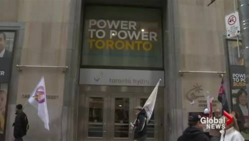 Toronto Hydro Workers Beginning First Stages Of Job Action Watch News Videos Online