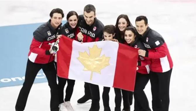 Image result for team figure skating 2018 olympics results