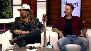 Billy Ray Cyrus and Dallas Smith