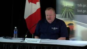TSB issues statement on investigation into fatal train derailment near Field, B.C.